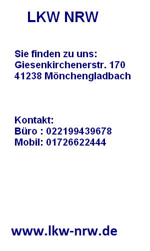 LKW Ankauf NRW